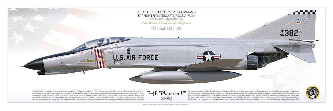 UNITED STATES AIR FORCE DEFENSE TACTICAL COMMAND57th Fighter Interceptor Squadron The Black