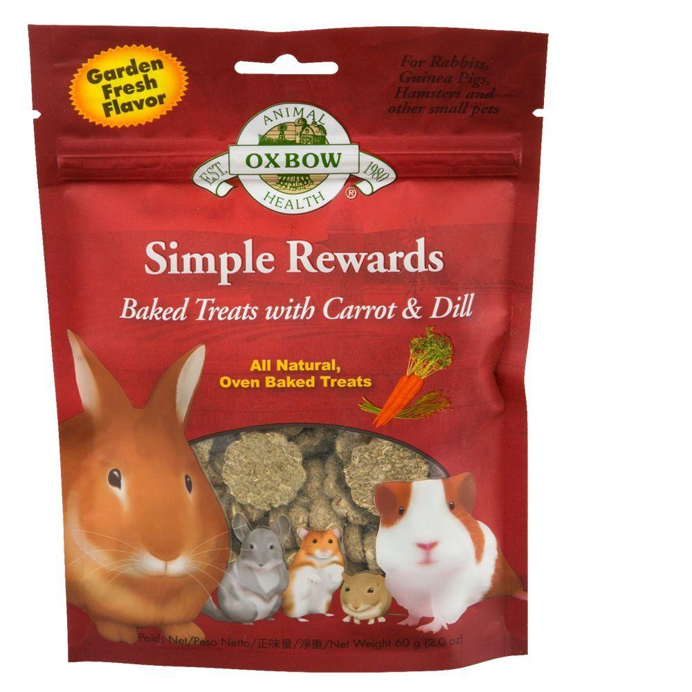 Oxbow Simple Rewards Baked Small Pet Treats No Bake Treats Treats Pet Treats