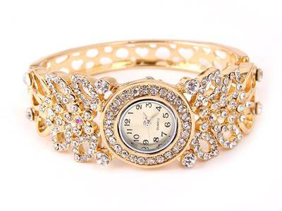 3883ac39fad0d AliExpress GroupBuy Relógio de pulso feminino quartz com str ...