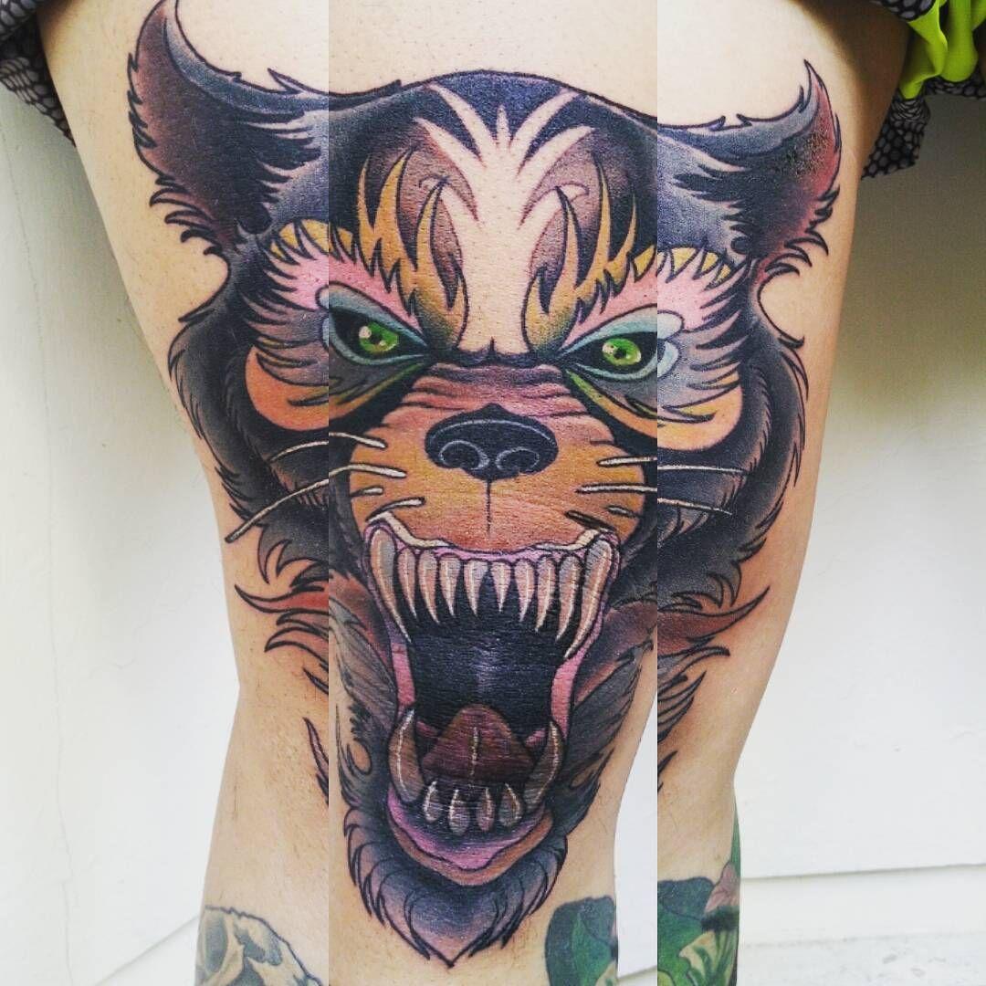 Tiger Tattoo Color Tattoo Knee Tattoo Maharadjah Tattoo Bali