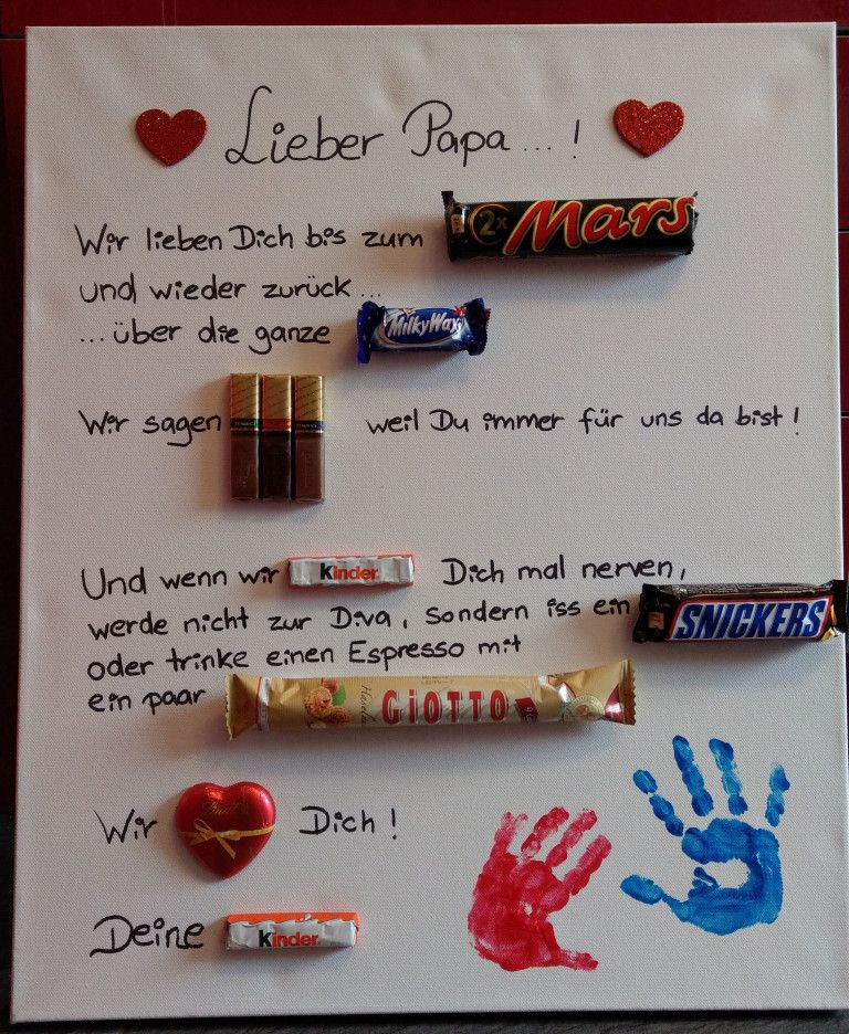 DIY: Geschenkidee für Papa #lustigegeschenke