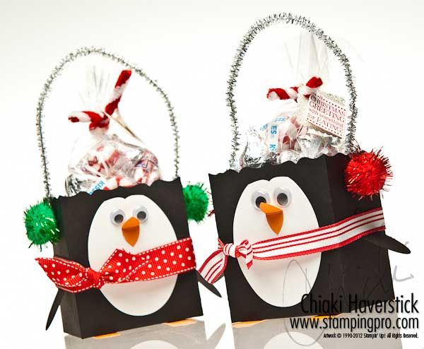 Holiday Treat Holder From Chiaki Haverstick39s Blog