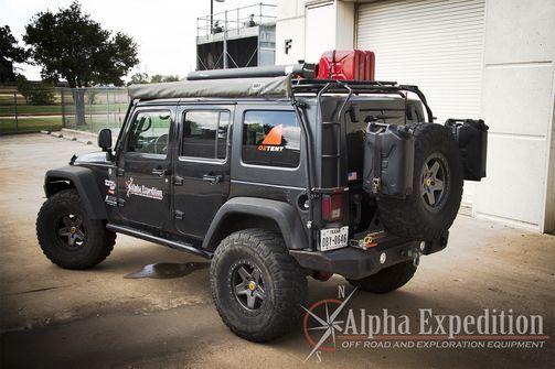 Gobi Jeep Jk Wrangler 4 Door Stealth Roof Rack