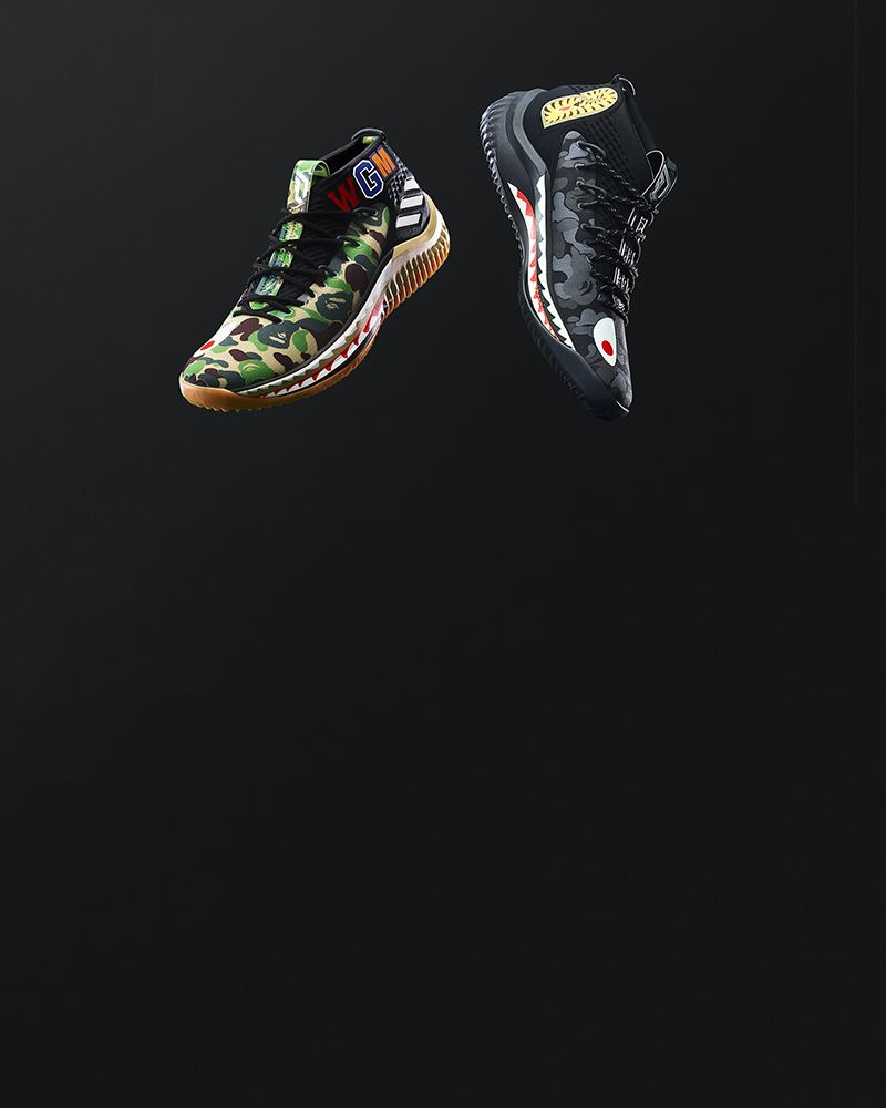 DAME 4 BAPE Sneaker Collection | adidas adidas adidas US | zapatos  and Outfits e2f374