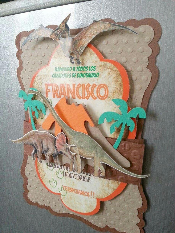 Dinosaurio Fiesta De Cumpleaños De Dinosaurio Cumpleaños