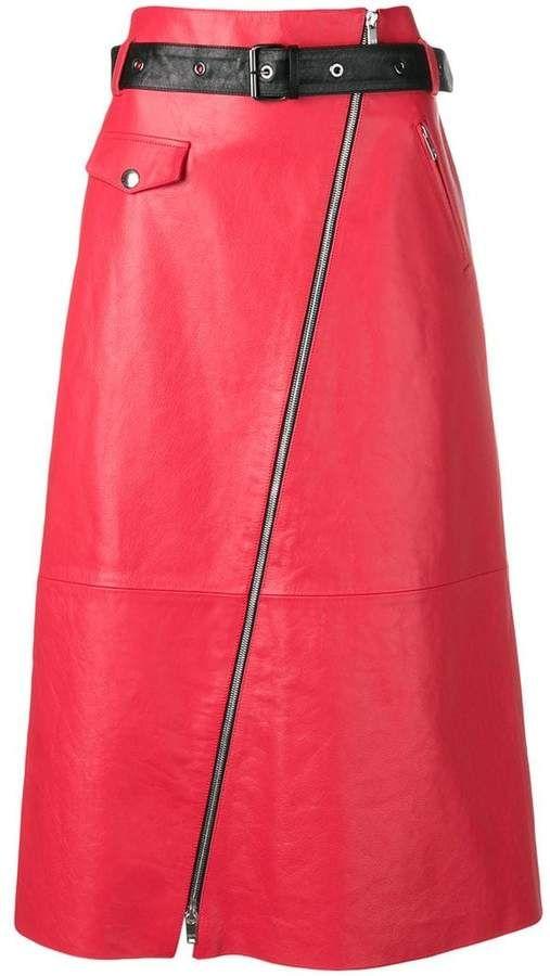 fcaf264187 Sonia Rykiel A-line midi skirt | Products | Midi skirt, Skirts ...