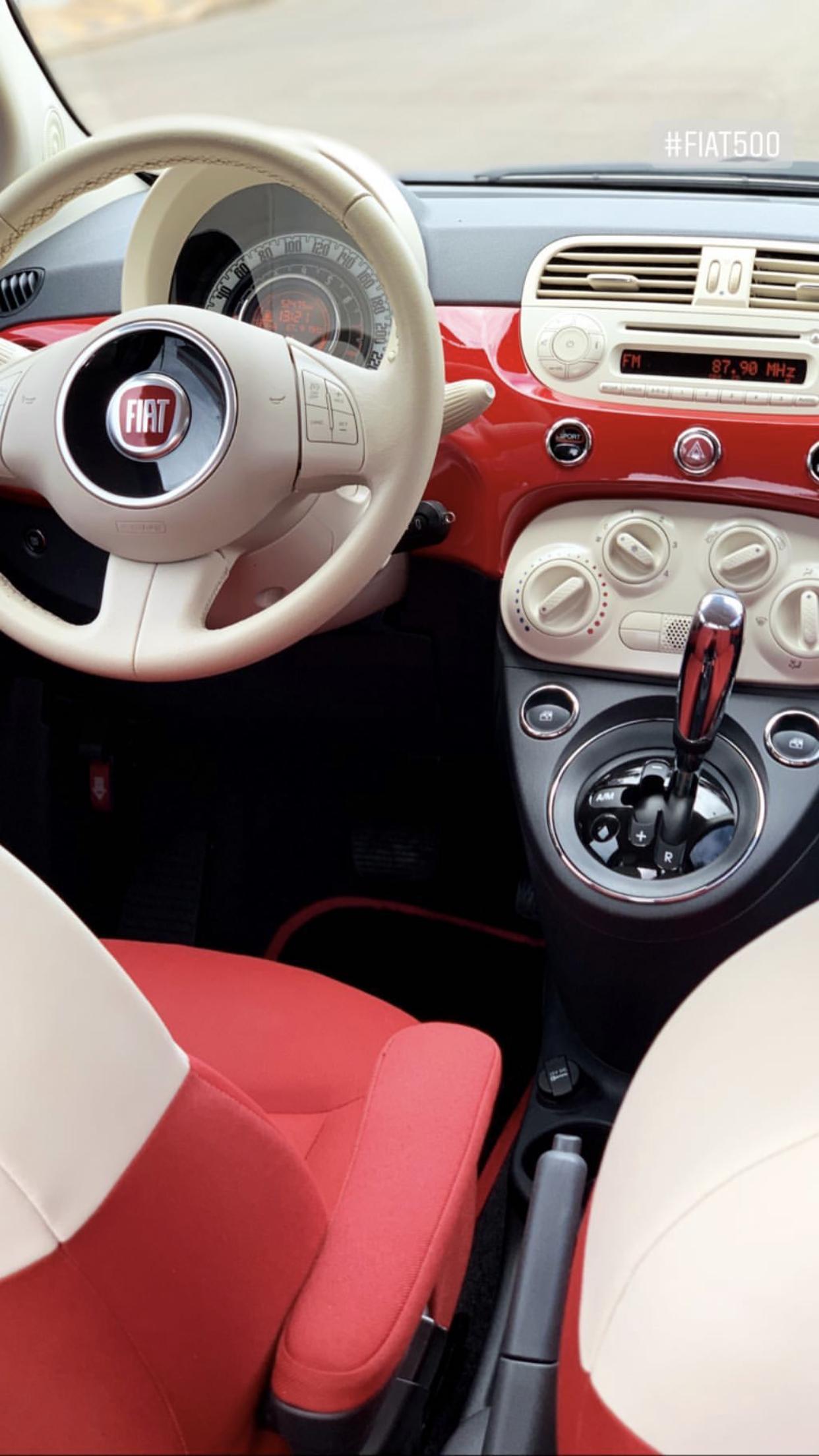 37++ Fiat 500 cabrio interior ideas