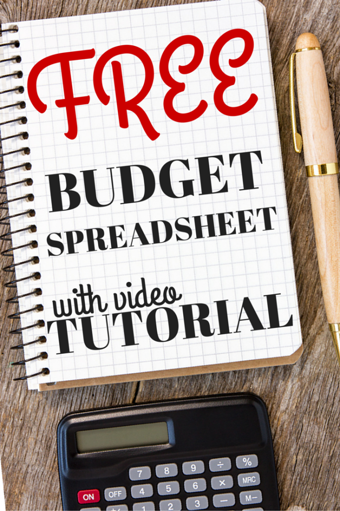 Download – Budget Spreadsheet With Video Tutorial