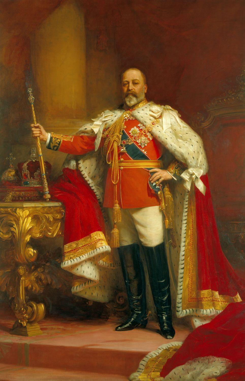 Sir Samuel Luke Fildes (1843-1927) - King Edward VII (1841-1910)
