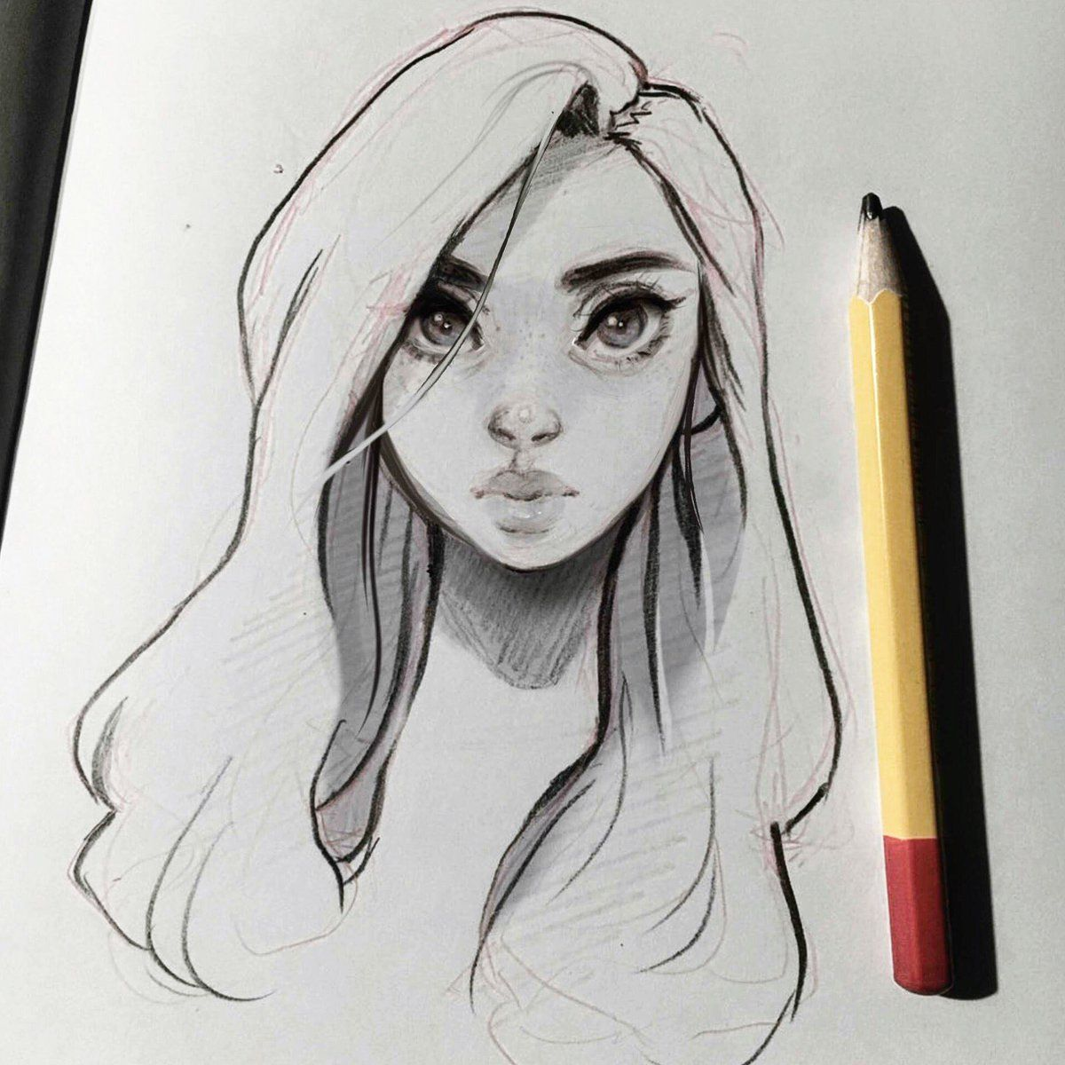 Cyarin Laura On Twitter Cartoon Girl Drawing Pretty Art How To Draw Hair