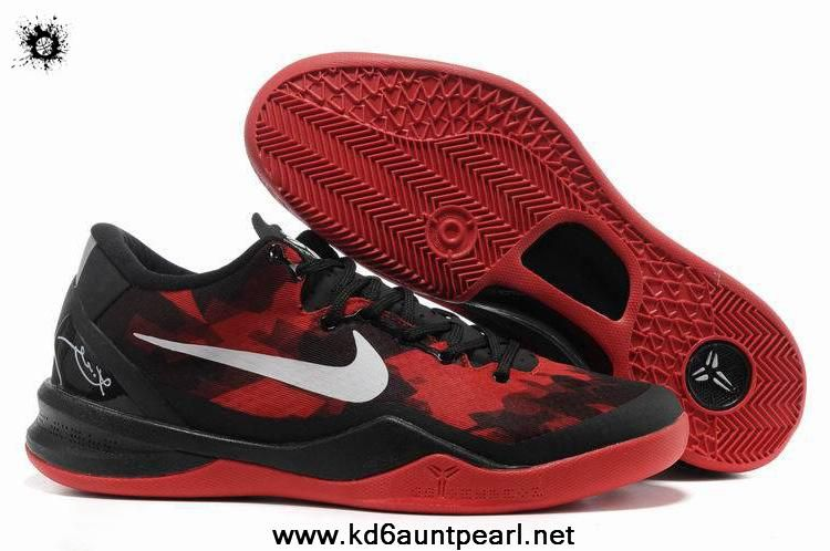finest selection 16f75 61678 Low Price Black Red Shoes Womens Nike Kobe 8