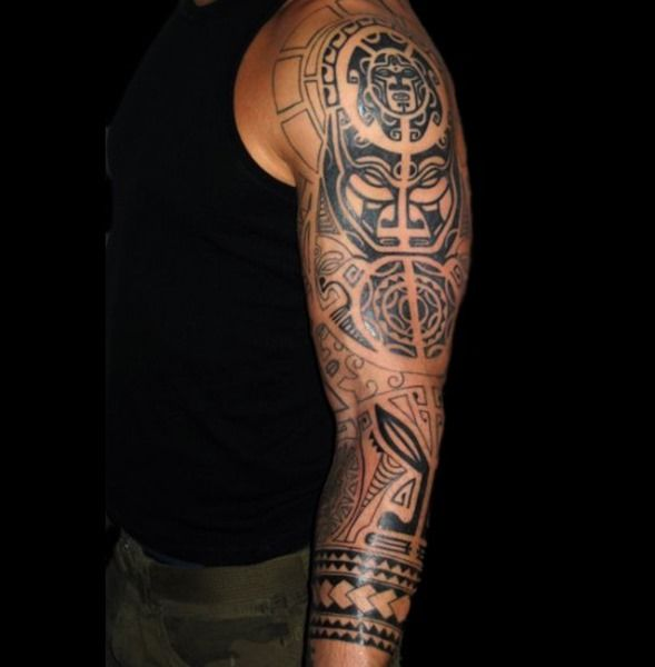 African Tribal Sleeve Tattoos Tribal Tattoos Designs And Ideas