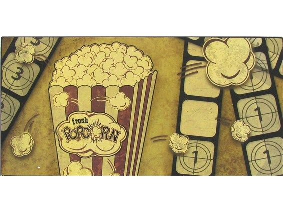 Movie Themed Tin Sign--Hobby Lobby   Media Room   Pinterest ...