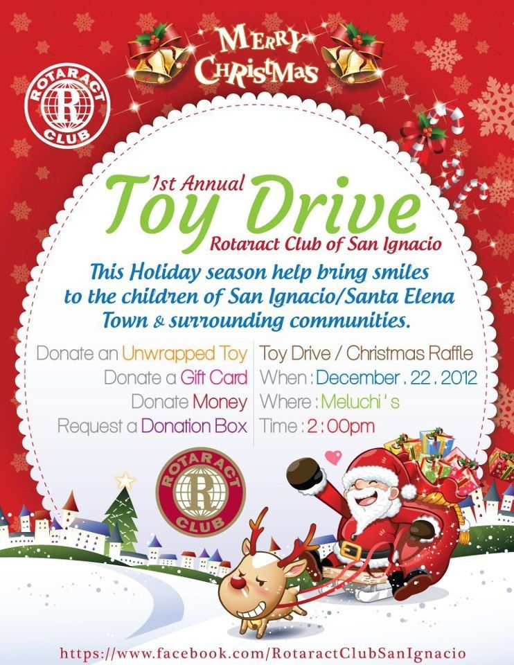 Announcement Email Sample Toys For Tots : Rotaract toy drive at meluchi s christmas letters