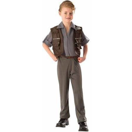 Jurassic World Deluxe Owen Child Halloween Costume Micah - halloween costumes for girls ideas