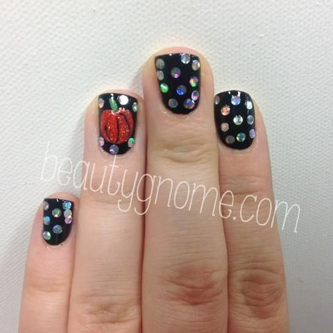 DIY Halloween Nails : Halloween Nail Art beautygnome