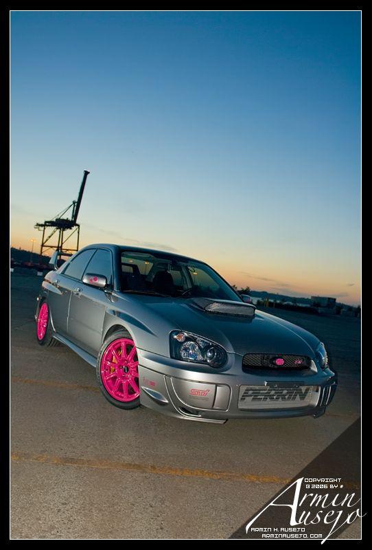 Pretty In Pink Subaru Impreza Forum Wrx Sti Rally Performance