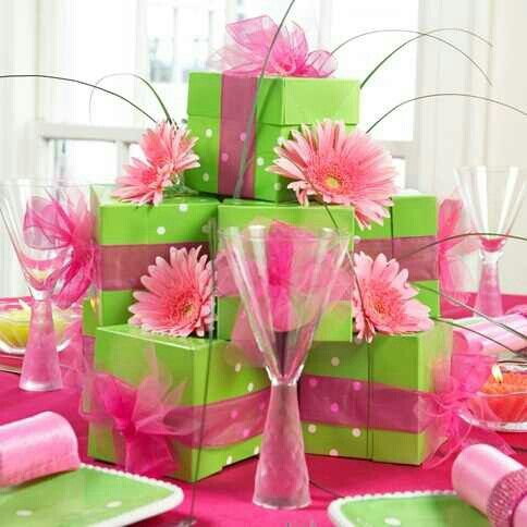 Centerpiece | party in 2019 | Party centerpieces, Lime ...