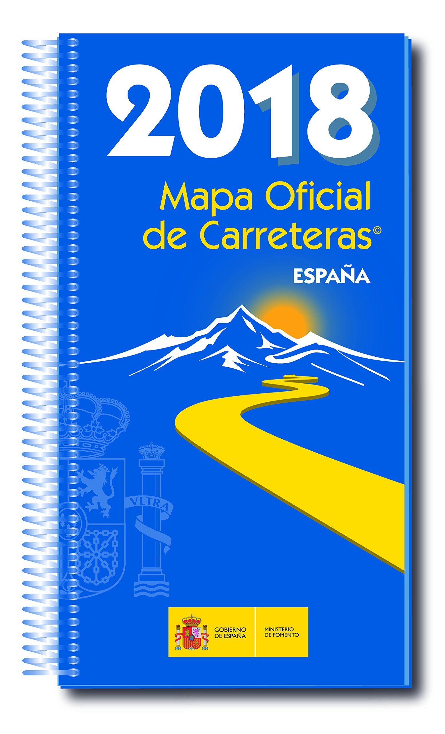 Mapa Oficial Carreteras  Espa A 2018 Inc Dvd 53a Ed