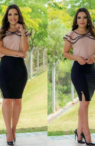 308d4bf2f7 EXECUTIVA - Floratta Modas | Look Princesa de Deus | Roupas ...