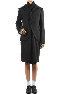 coat with jacket like front 2