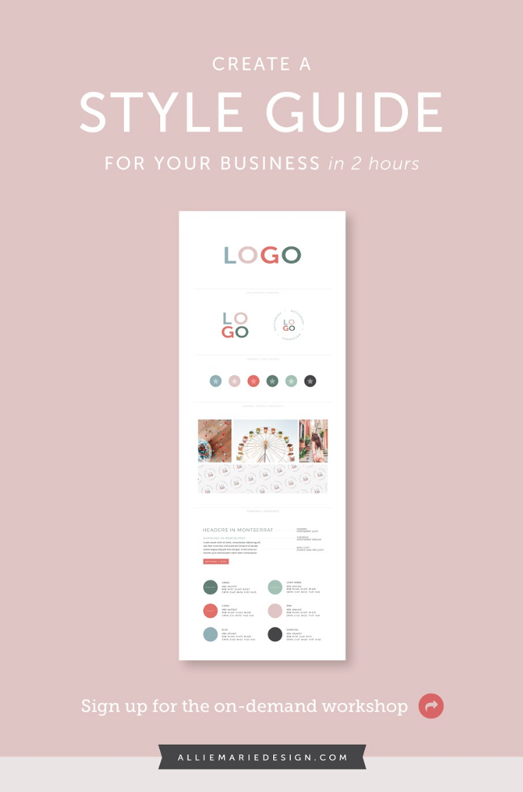 Start Creating Stunning Social Media Imagery Welcome Guides Pricing Sheets Client Worksheets And Style Guide Template Print Design Template Workbook Design