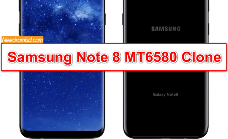 Samsung Note 8 MT6580 Clone Firmware | Smartphone Firmware
