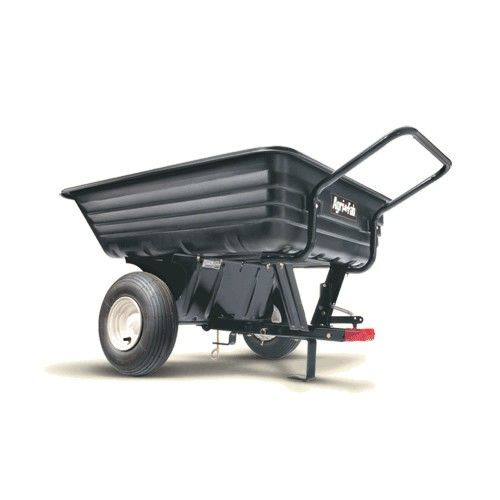 Agri Fab Convertible Push And Tow Cart Wheelbarrow Yard Cart Garden Cart