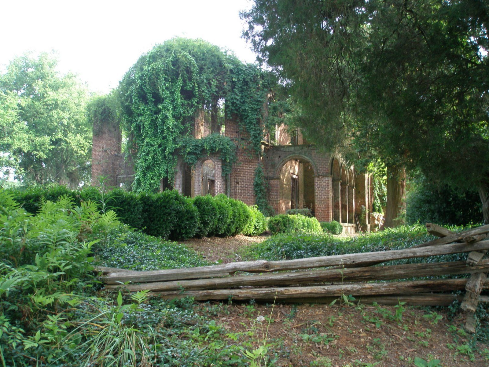Barnsley Gardens. Found A Picture Of The Ruins! Really Beautiful In A Sad  Sort