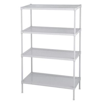 Closetmaid 20 In H X 24 In W X 14 In D White Wood Look 9 Cube Storage Organizer 3277 The Home Depot Cube Storage Cube Furniture Cube Furniture Storage