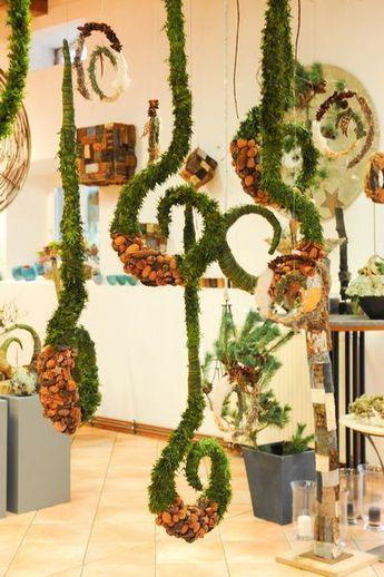 Bildergebnis f r adventsausstellung floristik for Weihnachtsideen dekoration