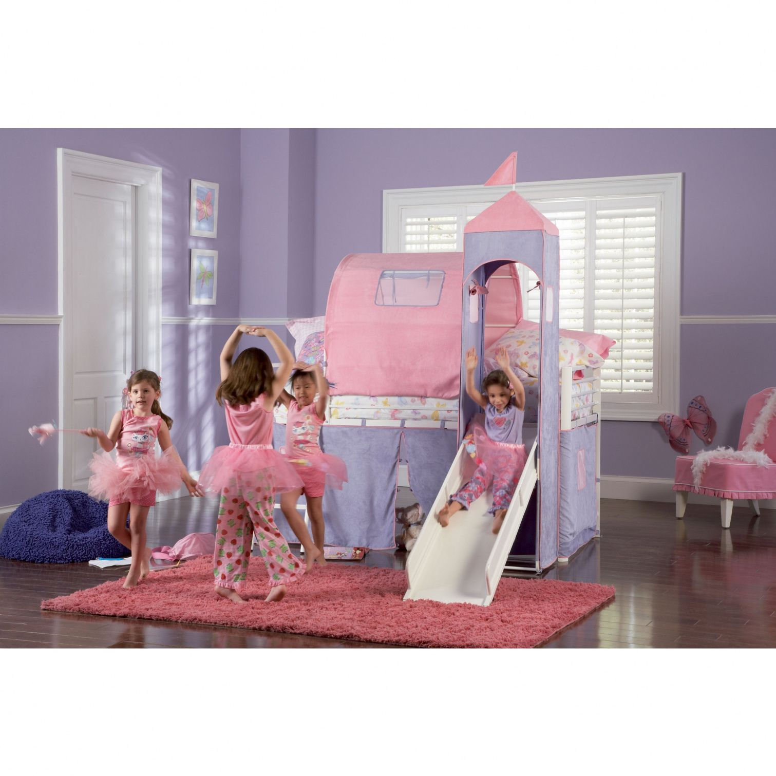 Girls Princess Bunk Beds Modern Interior Paint Colors Check More