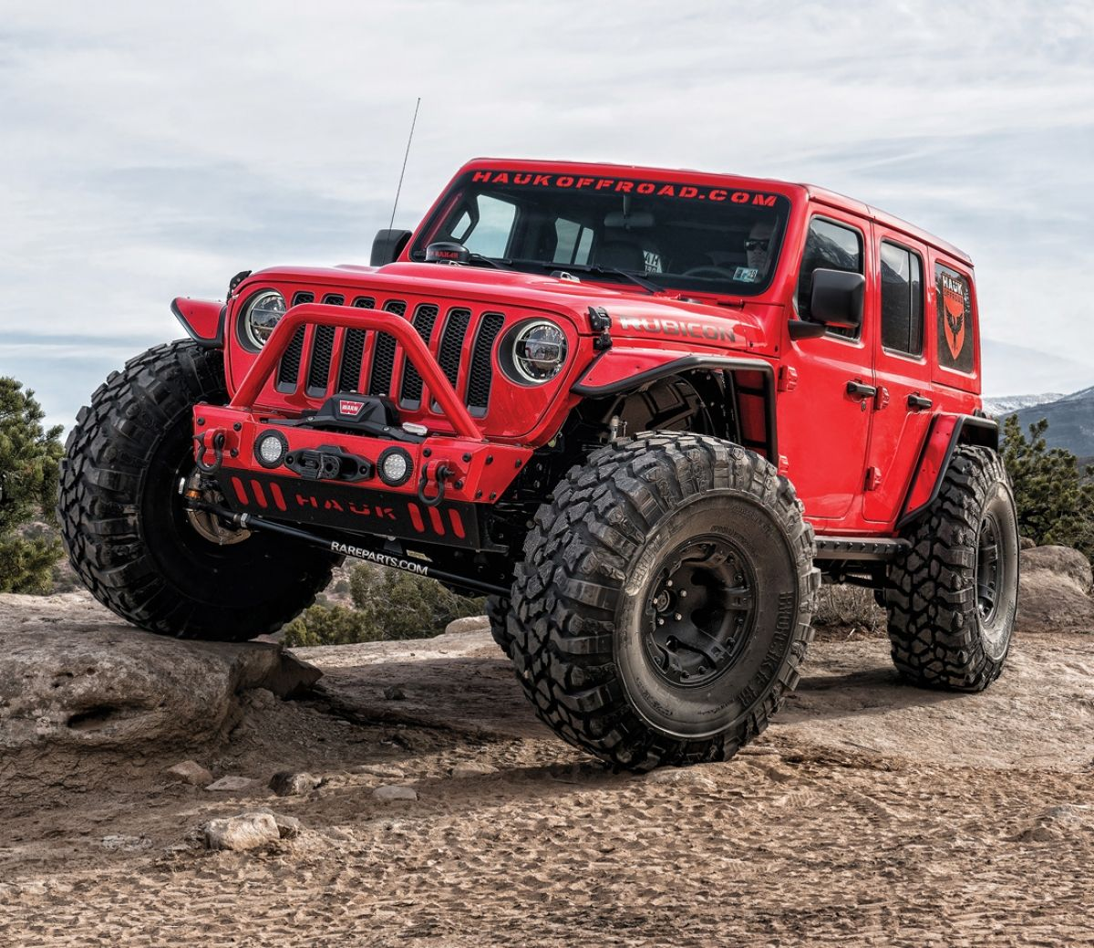 Overhauled 2018 Jeep Wrangler Jl Rubicon Would You Change Anything About It Jeep Wrangler Jeep Wrangler Jeep Jl Red Jeep Wrangler Unlimited
