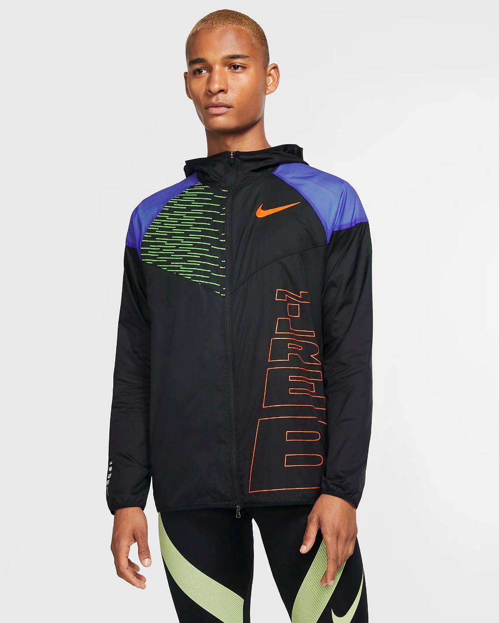 Veste Windrunner Nike Running Berlin pour Homme. Nike FR