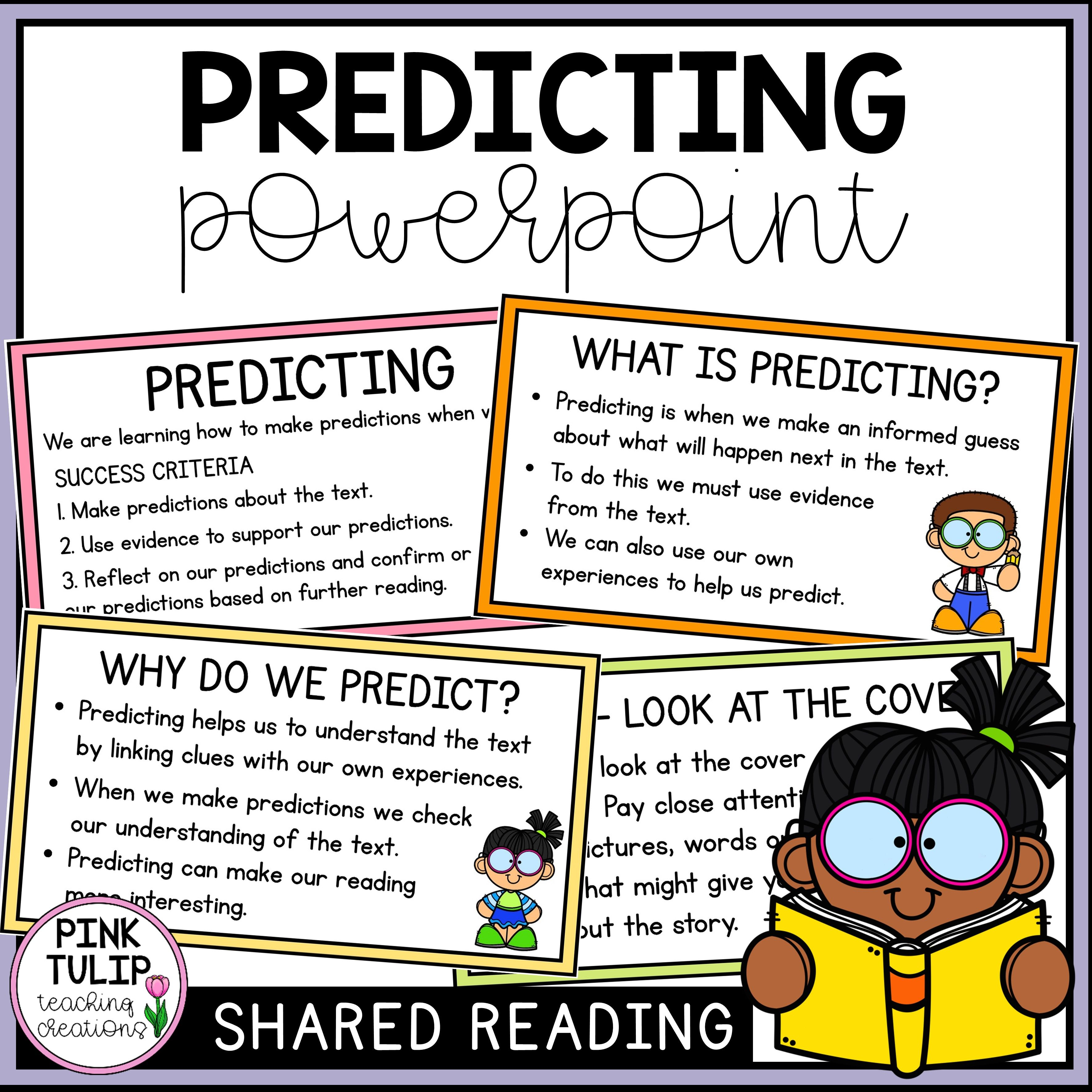 Reading Strategy Powerpoint Predicting
