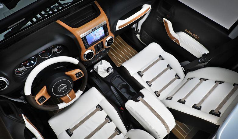 White Jeep Interior So Swag Jeep Wrangler Unlimited Jeep