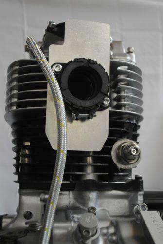 yamaha xt500 sr500 tt500 carburetor heat protection kit 01060stpinterest
