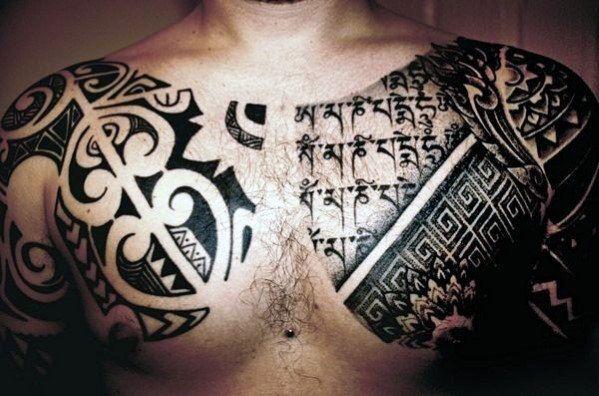 Top 60 Best Tribal Tattoos For Men - Symbols Of Courage Tatuajes