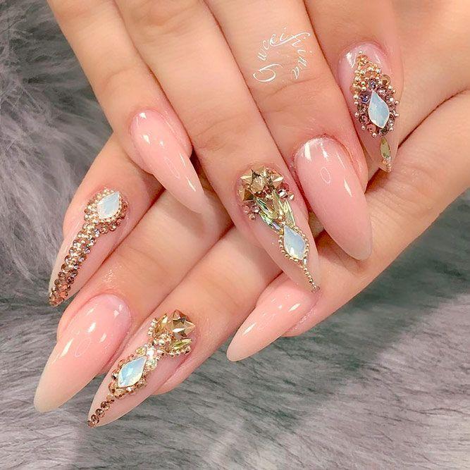 Elegant Ideas for Gel Nail Manicure Designs - Nails C | cute nails ...