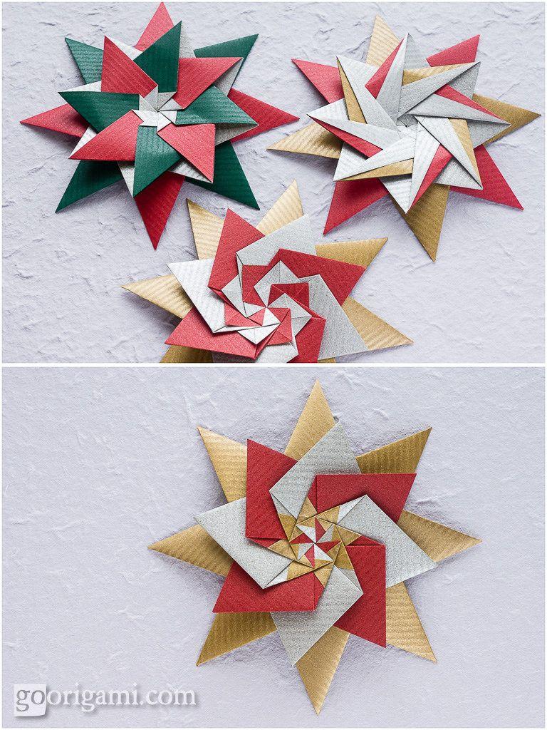 Zhanna Star Christmas Pinterest Diagram Pdf And Squares Origami Diagrams