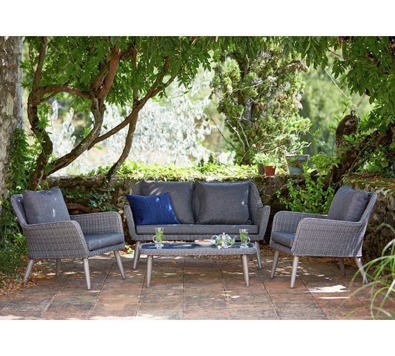 buy heart of house rio 4 seater garden sofa at argoscouk - Garden Furniture 4 Seater