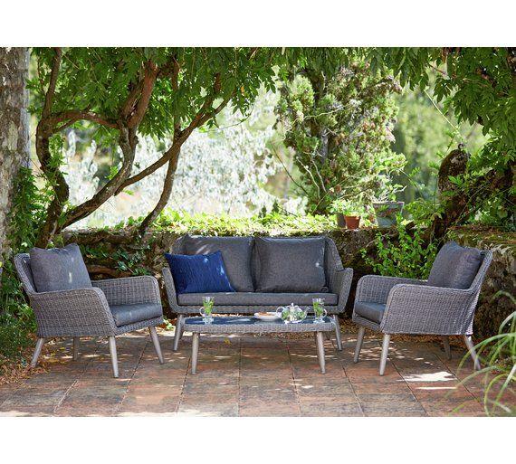 Buy Heart of House Rio 4 Seater Garden Sofa at Argos.co.uk, visit ...