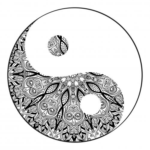 Yin Yang Mandala Kidspressmagazine Com Yin Yang Tattoos Mandala Coloring Pages Mandala Tattoo Design