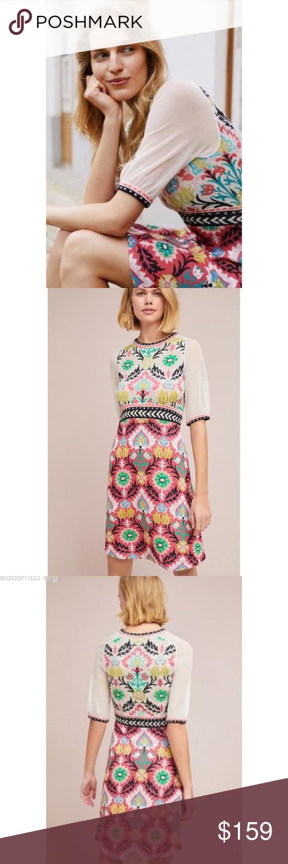 1518816d50fa HTF NWT ANTHROPOLOGIE Winona Knit Dress HTF Brand new with tags NWT  ANTHROPOLOGIE Winona Knit Dress
