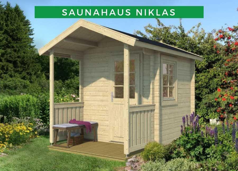 Saunahaus Niklas Saunahaus Sauna Pool Haus Ideen