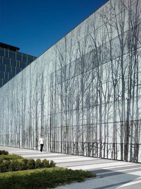 Harfa Gallery Sipral Building Facade Facade Glass Facades