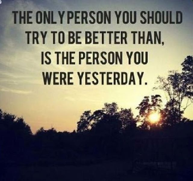 Be The Best Person You Can Be And The Rest Of The World Will Follow