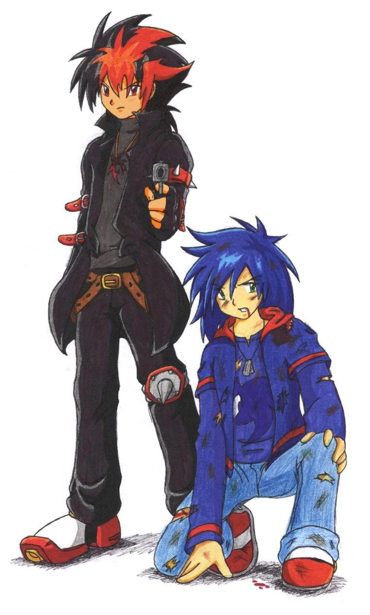 Human Sonic and Shadow - 4 STH by Maxus-the-fox | Sonic ...