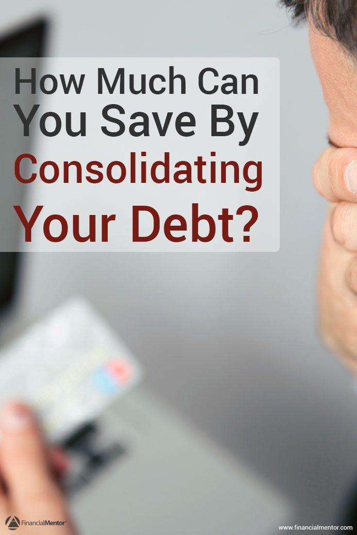 Debt consolidation calculator financial quotes loan