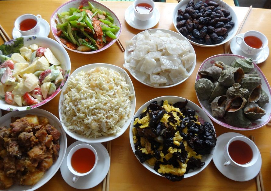 Great dishes for a energetic training in Shaolin Kung Fu ...
